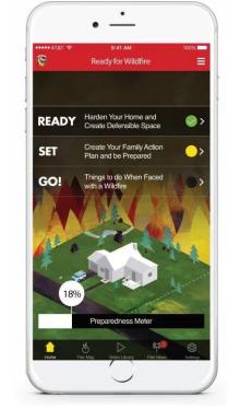 Cal Fire Phone App